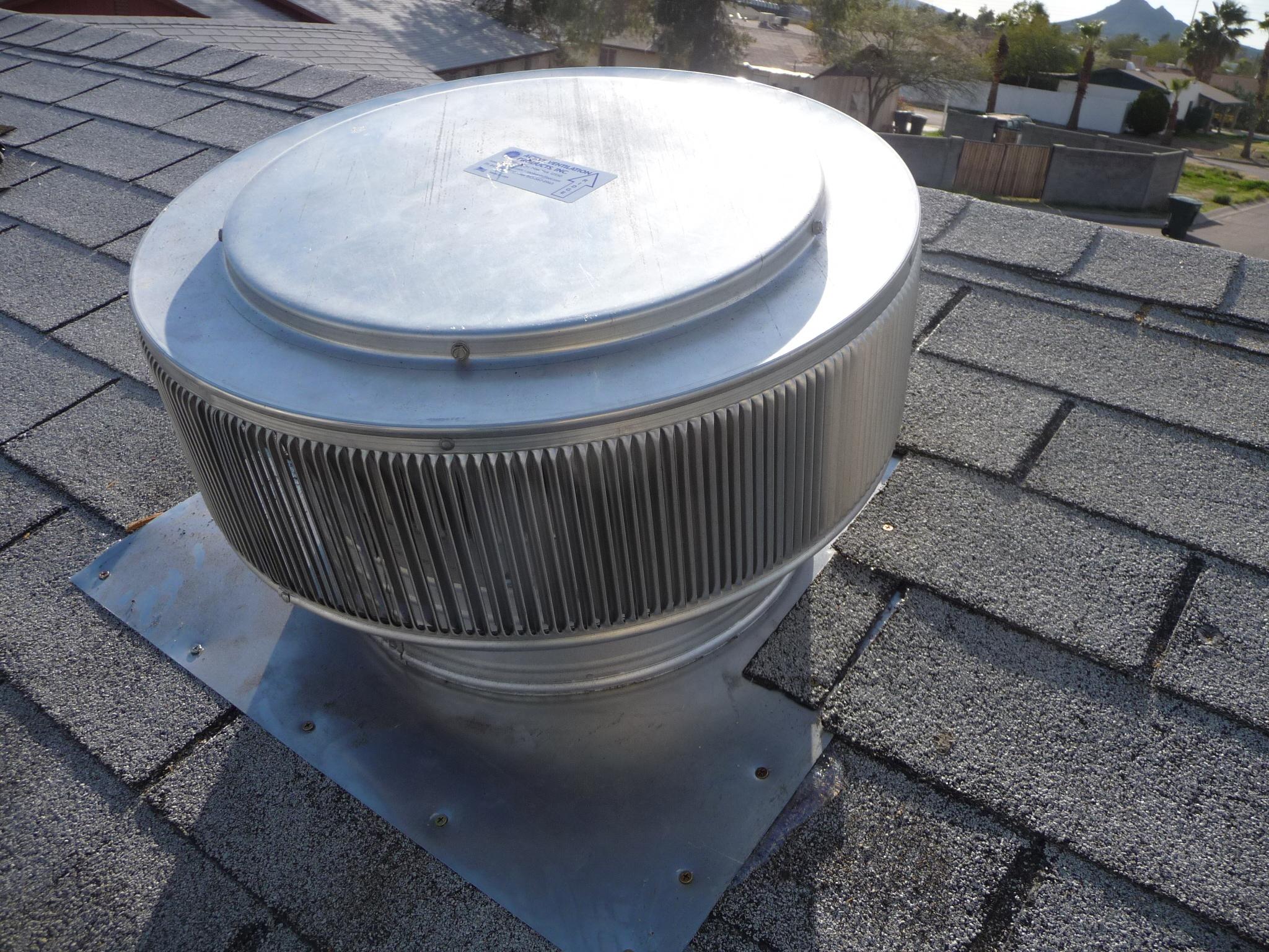 10 Inch Attic Exhaust Fan